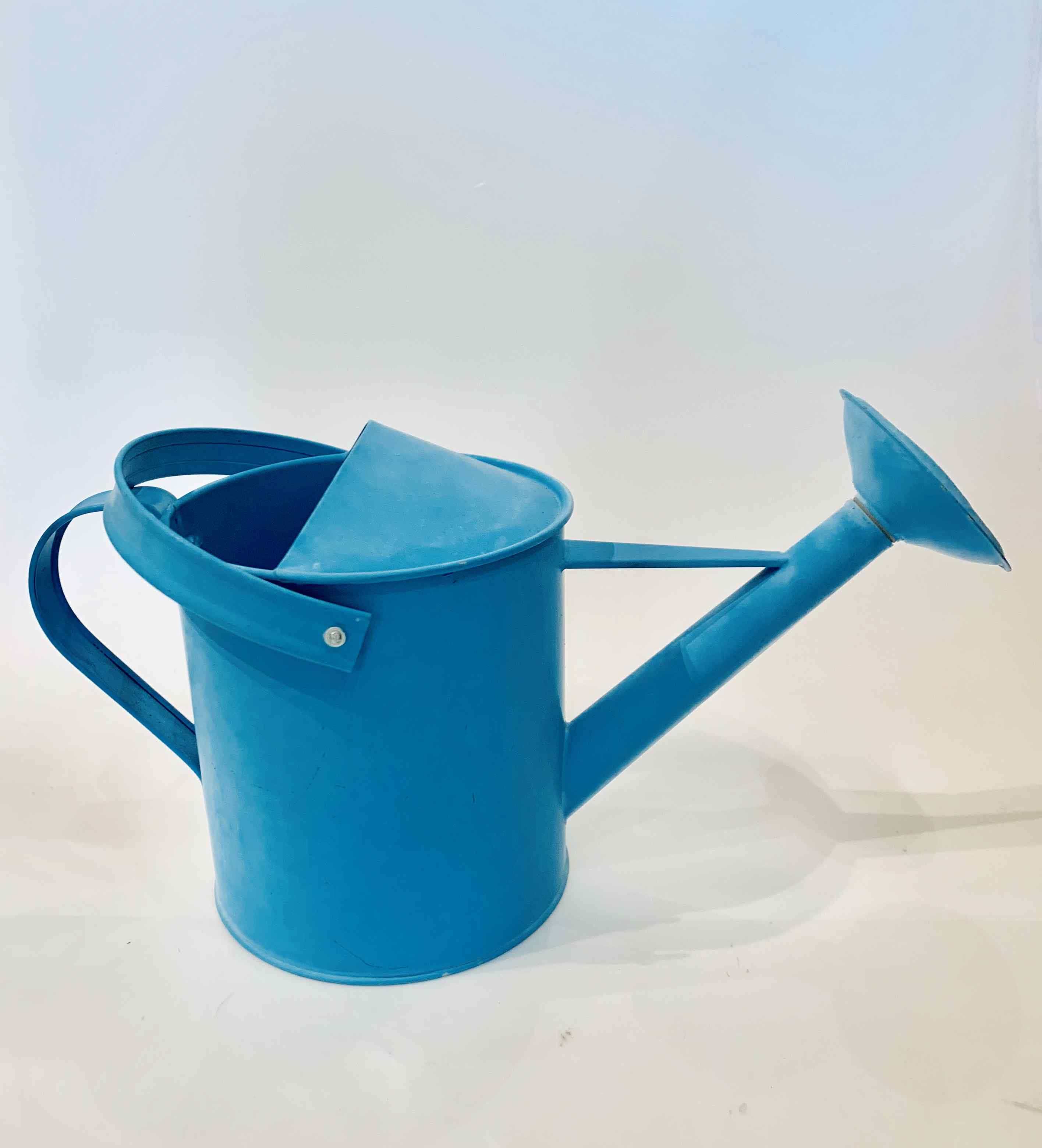 Vintage Blue Watering Can