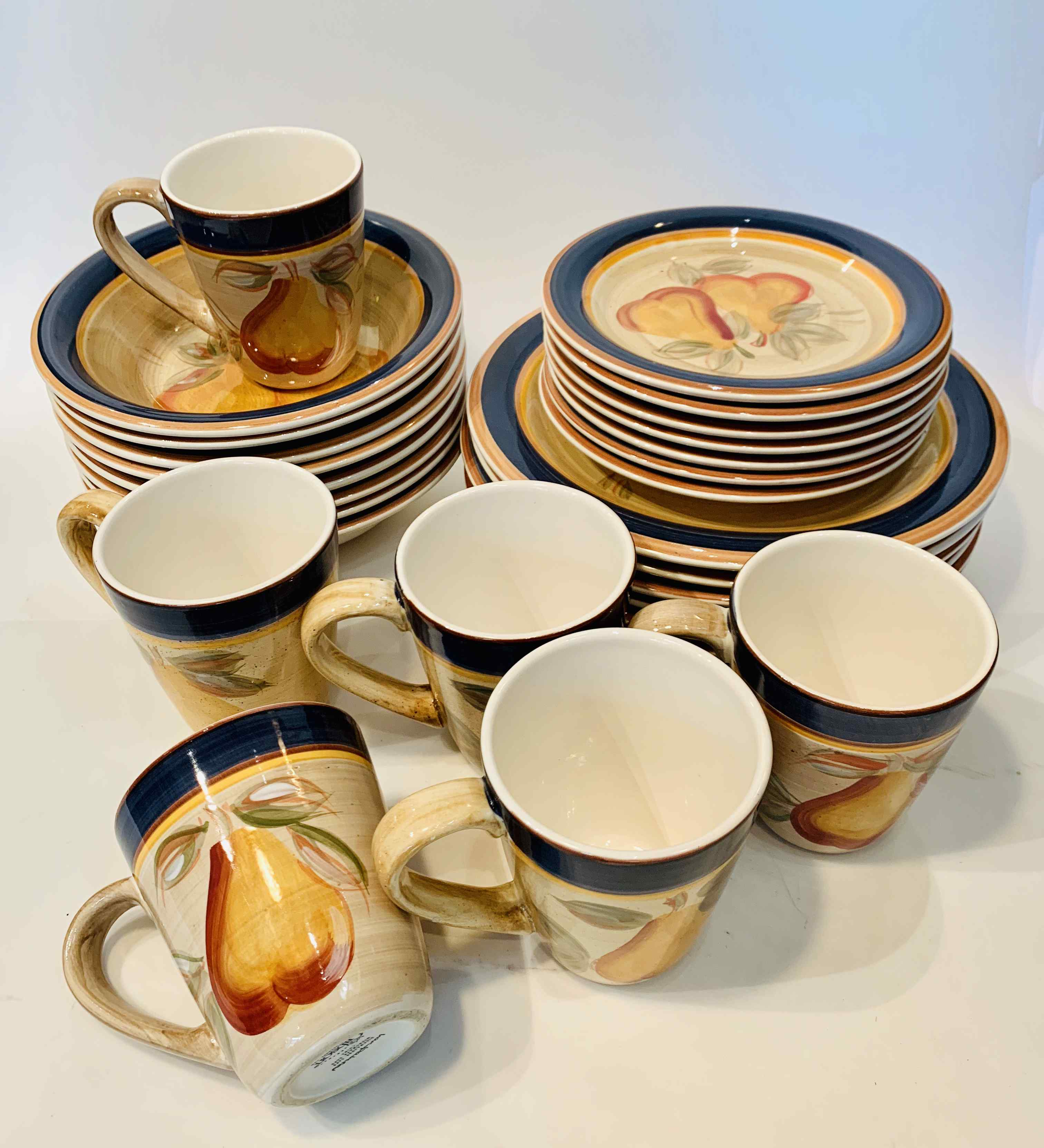 Gibson Ware Dinner Set of 28 pieces