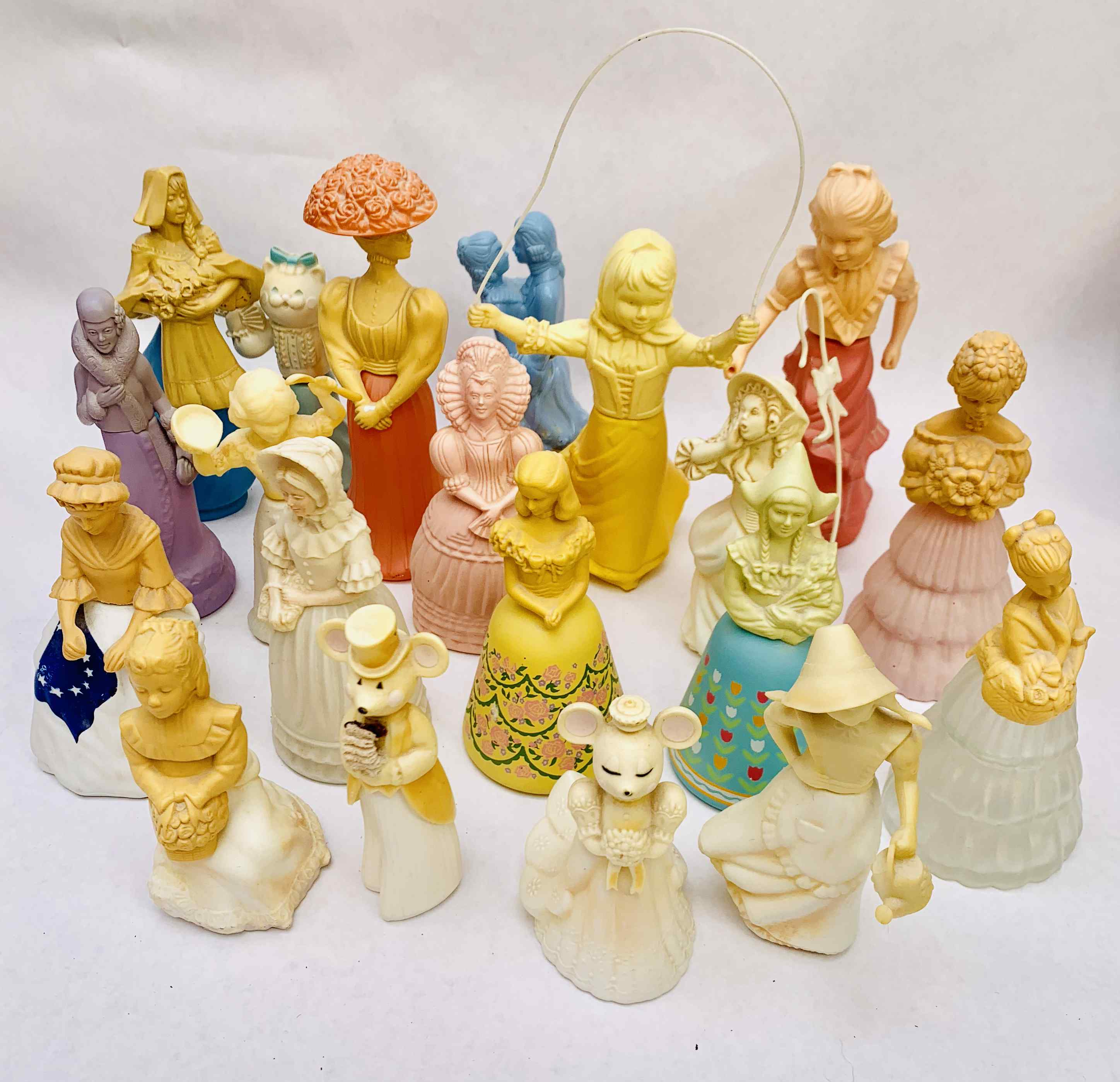 Collection of Avon Perfume Bottles