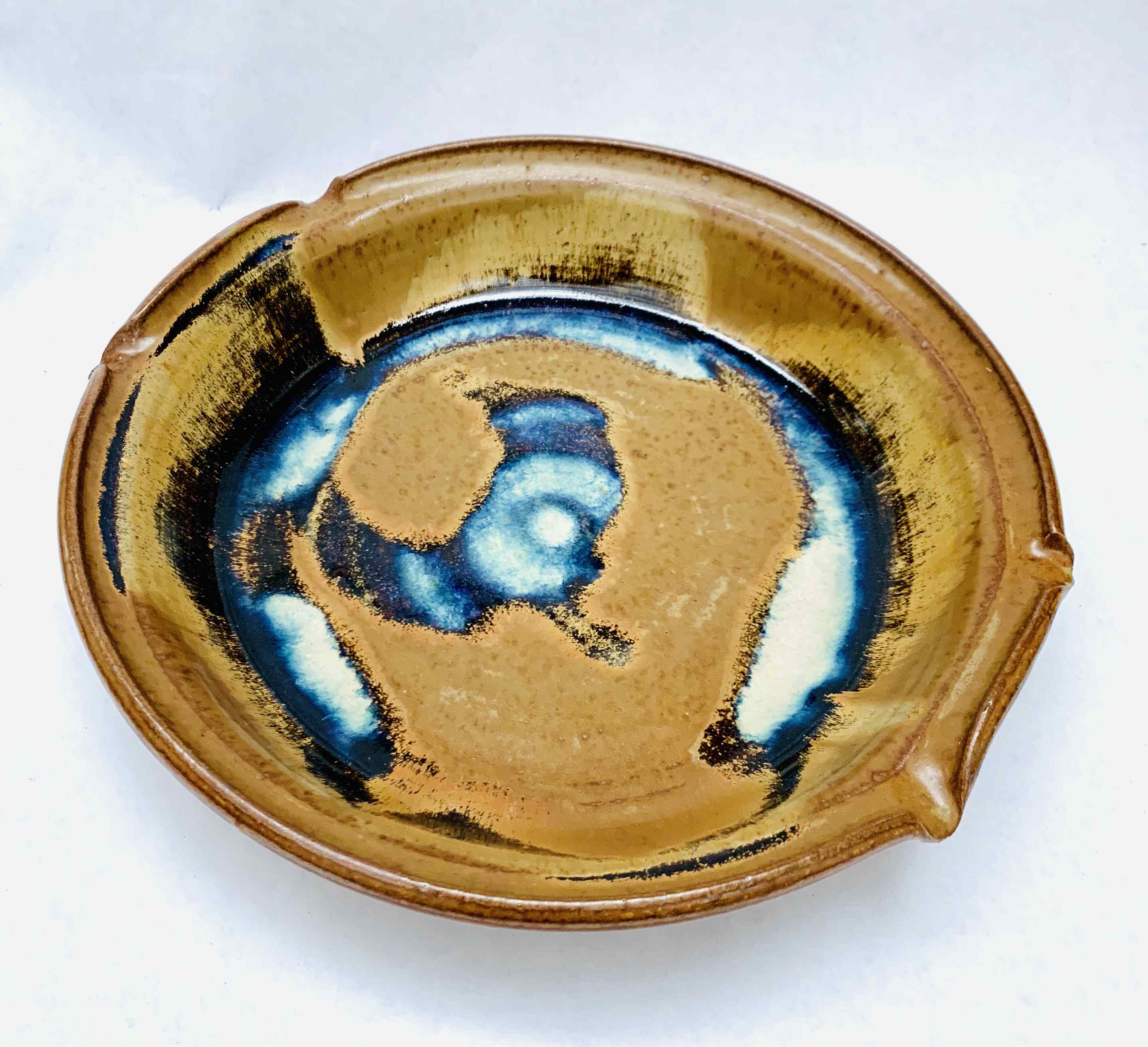Vintage Hand-made Pottery Bowl